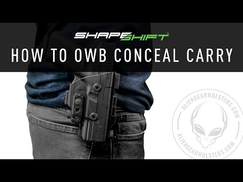 How To Use An OWB Holster For Concealed Carry