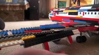 """Lego. Наборы и самоделки."" Самолёт Airbus A319."
