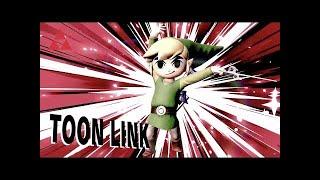 Toon Link Nasty Spike