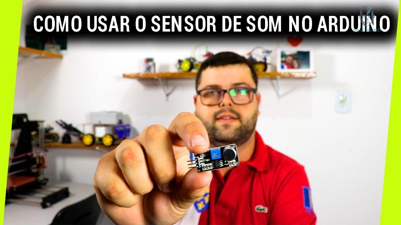 Como Usar O Módulo De Microfone Sensor De Som Na Robótica Para Arduíno