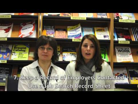 YMCA Employment Services: Job Search Tips