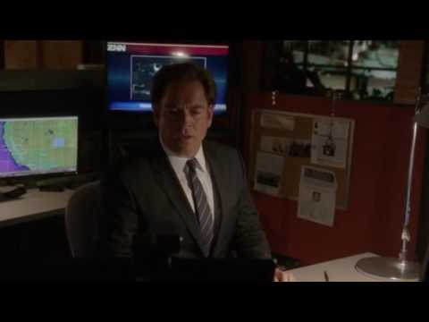 """Tony crying over Ziva in the squadroom """"Family First"""" 13x24"""