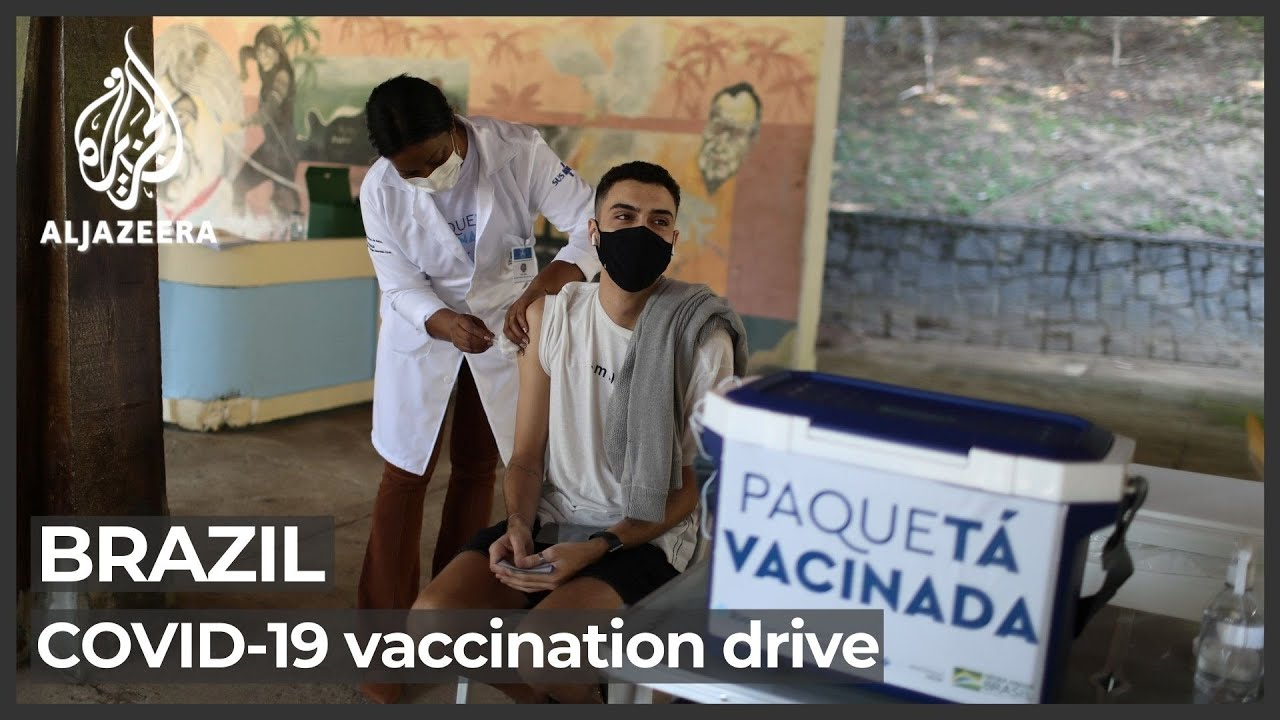Brazil kicks off mass COVID vaccination drives on Paqueta Island