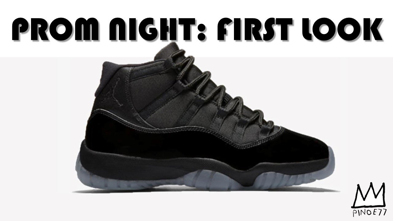 AIR JORDAN 11 PROM NIGHT FIRST LOOK 4a033029c