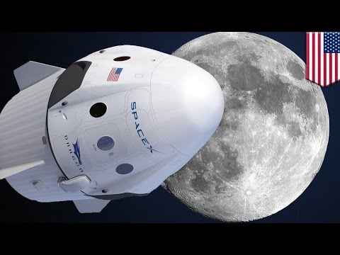 Elon Musk's SpaceX hopes to fly 2 cosmic tourists around the moon and back in 2018 - TomoNews