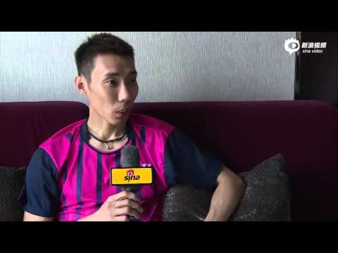 """An interview with Lee Chong Wei for the Chinese reality TV called """"Yes, Coach!""""."""