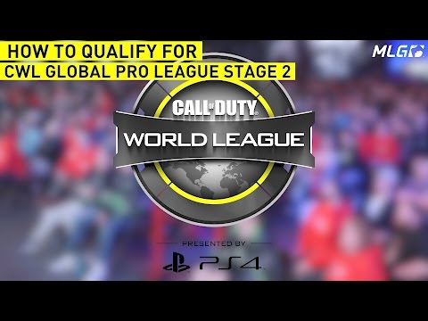 How to Qualify for Stage 2 of the CWL Global Pro League