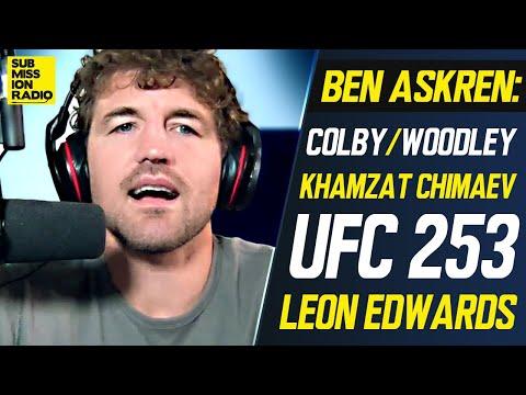 Ben Askren on Covington/Woodley, Khamzat Chimaev Hype, Adesanya/Costa, Gives Leon Edwards Advice