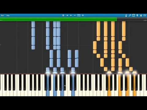 Zedd - Done With Love: Synthesia Piano Tutorial