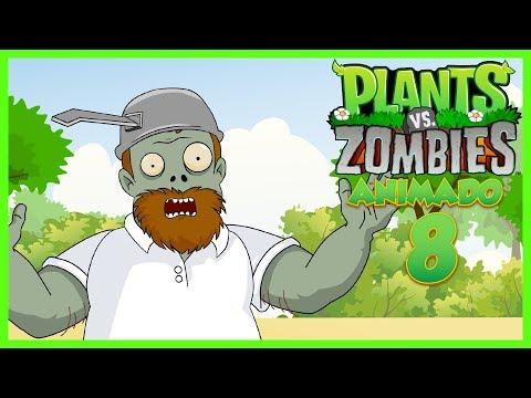 Plantas vs zombies animado Capitulo 8 ☀️Animación 2017☀️ PARODIA
