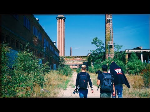 Followed Out of an ABANDONED FACTORY | Europe Urbex Road Trip Day 1