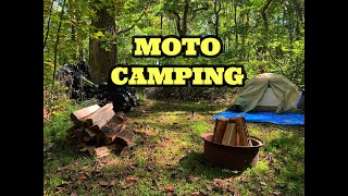 Motorcycle Camping At Jugтown Mountain Campsites in Asbury New Jersey