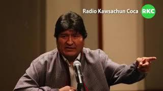 Evo Morales denuncia Golpe de Estado