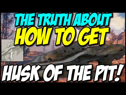 The truth about how to get the husk of the pit in destiny youtube