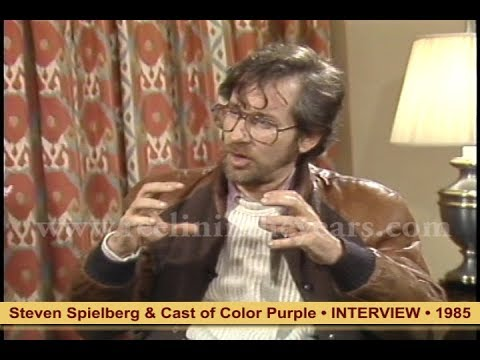 Steven Spielberg & cast of Color Purple- Interview 1985 [Reelin' In The Years Archives]
