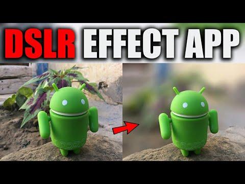 DSLR Effect! Best Photo Editing App📷