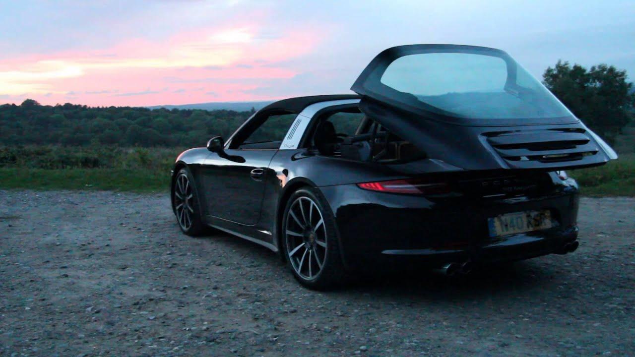 Porsche 991 Targa 4s Roof Operation Youtube