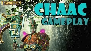 "SMITE Chaac Gameplay - ""I"