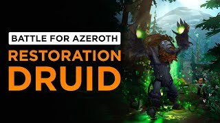 Super HOT Tranquility is BACK! Restoration Druid | WoW: Battle for Azeroth - Beta [2nd Pass]
