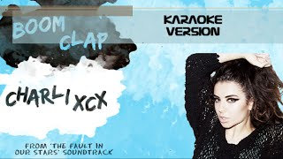 Charlie XCX Boom Clap (karaoke version)