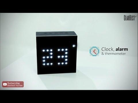Divoom Aurabox Smart LED Bluethooth Speaker - Gearbest.com