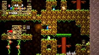 Spelunky Pixel Mod (+spelunky classic music, no game audio) - Hell Run
