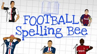 📖FOOTBALL SPELLING BEE!📖 (Starring The Frontmen)