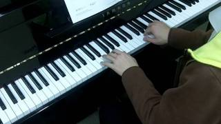 Trinity Guildhall Piano 2012-2014 Grade 2 No.2 Anonymous Bourree in D Minor
