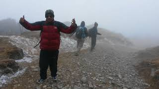 Travelling through the Snowy Mountain, a beautiful journey in Nepal