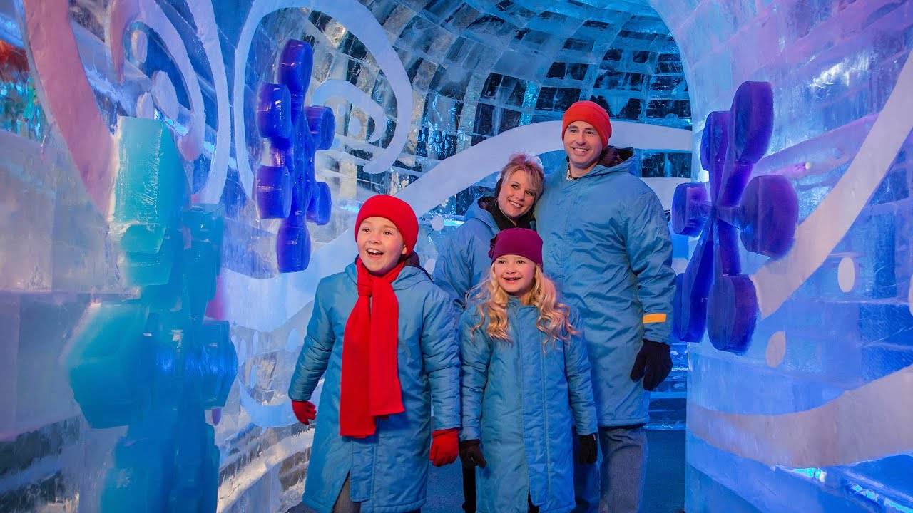 ice! at gaylord texan, grapevine, tx (2014) - youtube