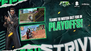 Bigo FFPL II - Teams to watch out for in Play-offs | Free Fire Pakistan League 2021