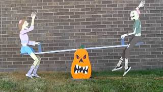Halloween Teeter Totter Zombies By The Winfield Collection
