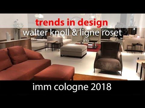 Тренды в дизайне. IMM Cologne 2018 Walter knoll & Ligne roset