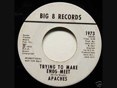Apaches - Trying To Make Ends Meet - Big 8 Records