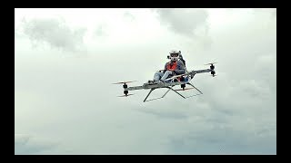 Personal electric flying 'sports car' EVTOL - manned flight