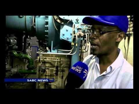 Muela hydropower plant generating electricity for Lesotho