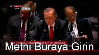 recep tayyip erdoğan konuşması bm st