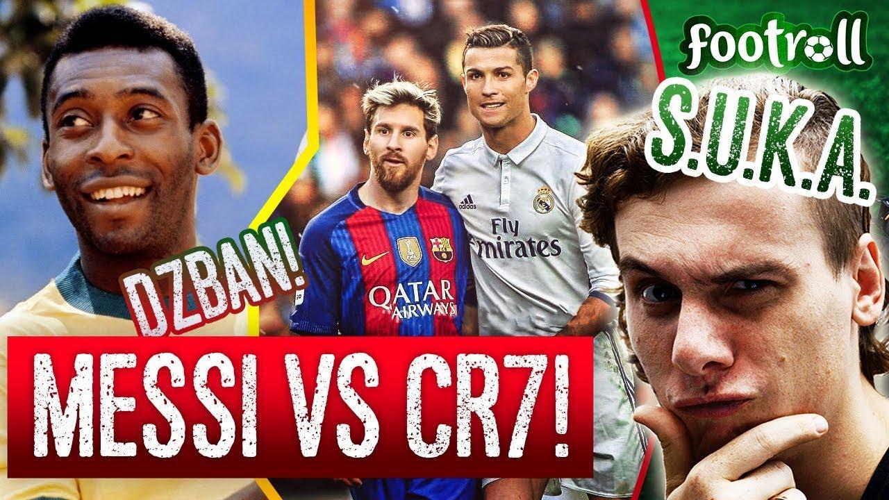 f446f0589 Messi czy Cristiano Ronaldo? Dzban Pele pomoże! - YouTube