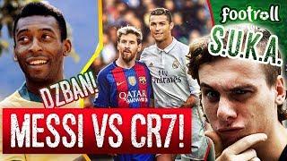 Messi czy Cristiano Ronaldo? Dzban Pele pomoże!