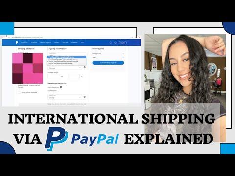 INTERNATIONAL Shipping Via Paypal EXPLAINED | Small Businesses, Entrepreneur Life, Depop Seller Tips