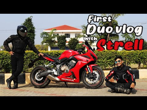 STRELL - KOCHIMACHAN DUO VLOG | ft.HONDA CBR 650R | MONSTER 821 | OPEN ROADS | FUN VLOG |
