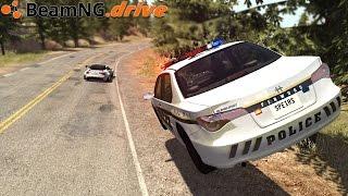 BeamNG.drive - POLICE CHASE