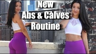 New Abs & Calves Routine (Simple & Effective)