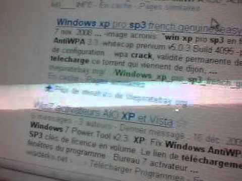 SP3 WINDOWS FOR TÉLÉCHARGER ANTIWPA CRACK XP PRO