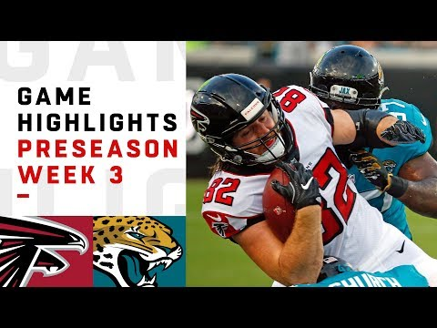 Falcons vs. Jaguars Highlights | NFL 2018 Preseason Week 3