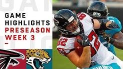 Falcons vs. Jaguars Highlights | NFL 2018 Preseason Week 3