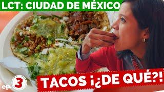 ¡TACOS DE TODO! Ep. 3 - La Cooquette Travels: Ciudad de México (México D.F.)