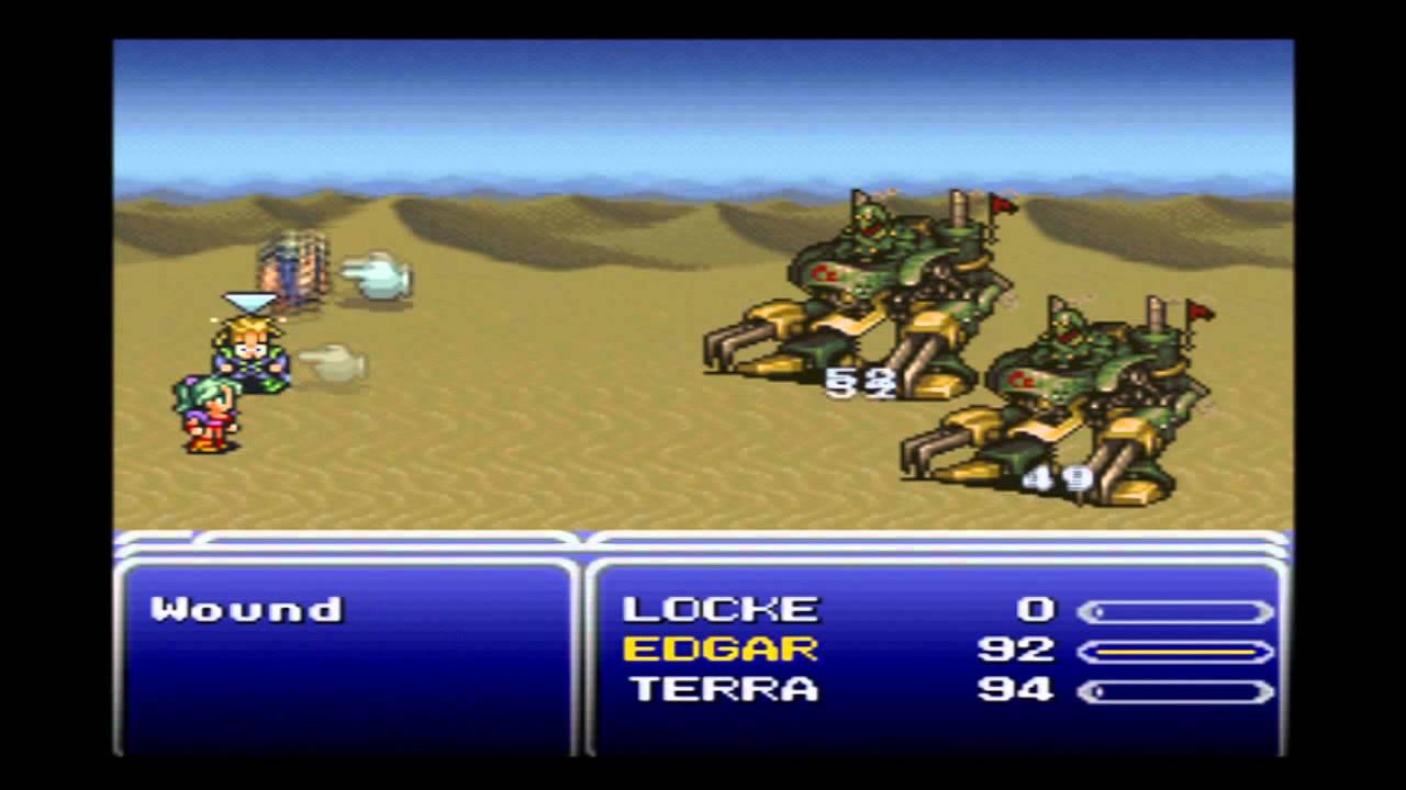 "Final Fantasy 6 Rom 「final fantasy 6」 01-e ~ ""desert, kefka, magic"""