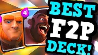 THIS CHEAP DECK IS LETHAL! (No Legendary) - Ft. WINGS In Clash Royale