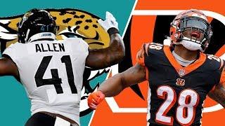 Jacksonville Jaguars vs Cincinnati Bengals Live Stream Reactions and Play-by-Play | Week 7